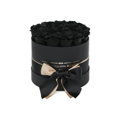 Black  Roses in Black Box