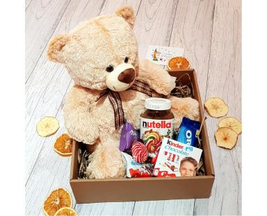 Teddy Bear&Nutella Sweet Box