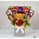 Teddy Bear Chocolate Gift set