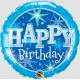 Birthday Blue Sparkle