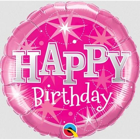 Birthday Pink Sparkle