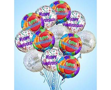 Anniversary Microfoil Balloons