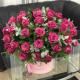 60 Purple Roses