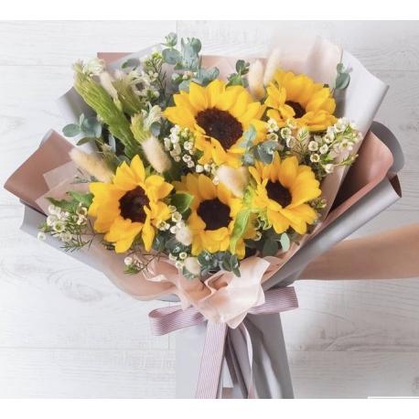 5 Sunflowers