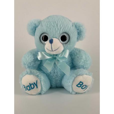 Baby Boy Teddy Bear 25 cm