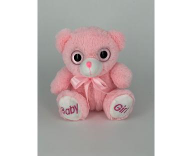 Baby Girl Teddy Bear 25 cm