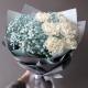 Gypsophila&White Carnations