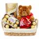 Choco&Bear in Basket