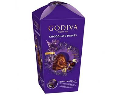 Godiva Chocolate Domes Double Chocoalate 130g