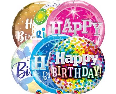 Birthday Foil Helium Balloon