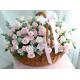 Spray Roses in Basket