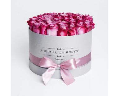 Deep Purple Roses Box