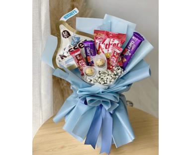 Sweet Blue Bouquet''Mickey''