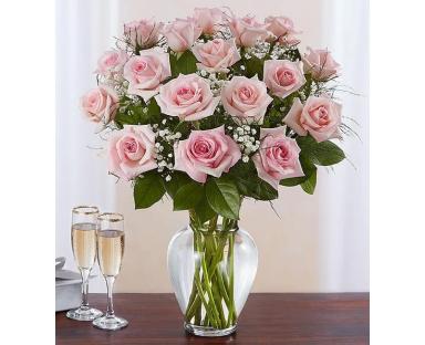 Pink roses bouquet''Eliana''
