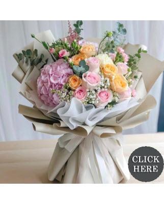 Birthday Hand Bouquets