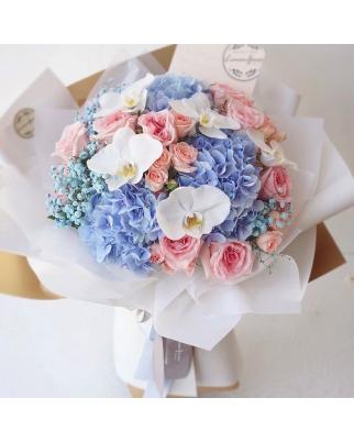 Newborn's Boy Bouquet
