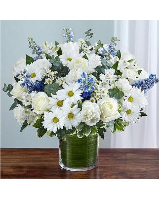 Newborn's Boy Vases with flowers