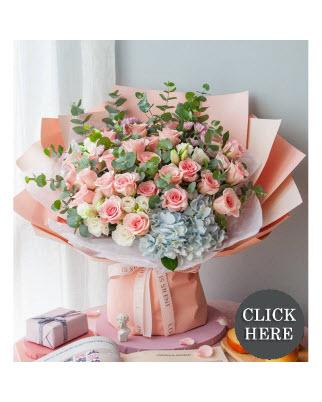 Anniversary Hand Bouquets
