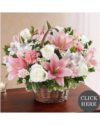 Just Because Flower Baskets